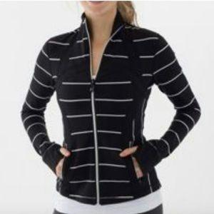 Lululemon define jacket sailor stripe